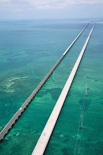 Florida Keys - most 7-milowy
