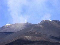 etna glowny krater 3340 m n p m