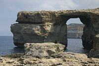 azure window dwejra bay wyspa
