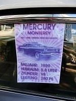 FORD - MERCURY - MONTEREY