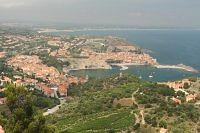 collioure view from fort saint